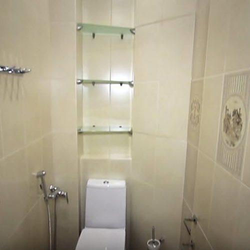 Отделочные работы туалета санузел