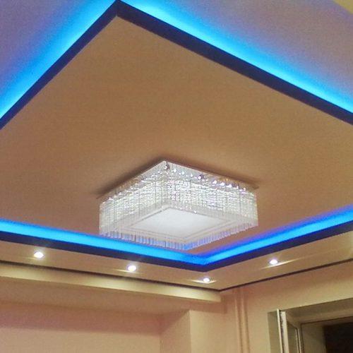 Освещение потолка в квартире