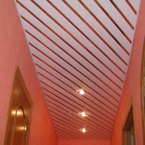 Установка реечных потолков в Артёме