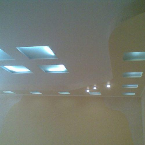 Потолок подвесной из ГВЛ