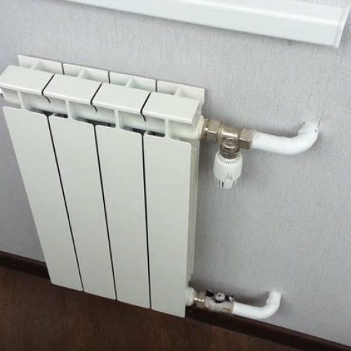 Установка и замена радиаторов системы отопления