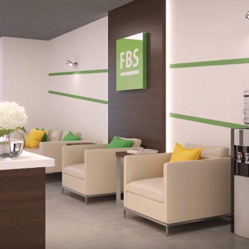 Дизайн и ремонт офиса компании FBS в Артёме
