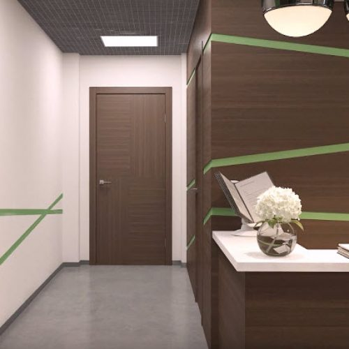 Ремонт офиса и коридора