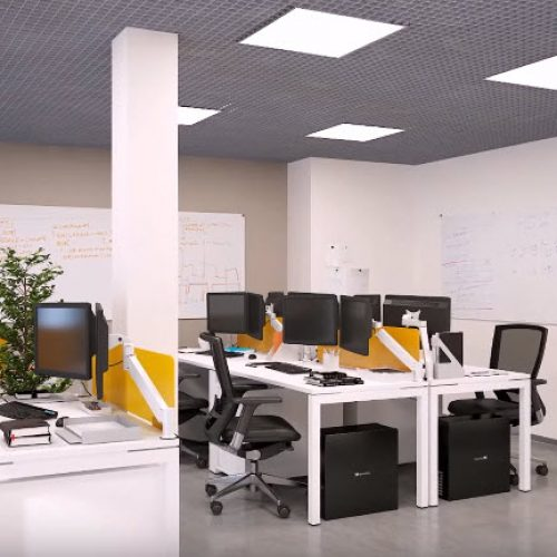 Рабочее пространство для сотрудников офиса Артёма
