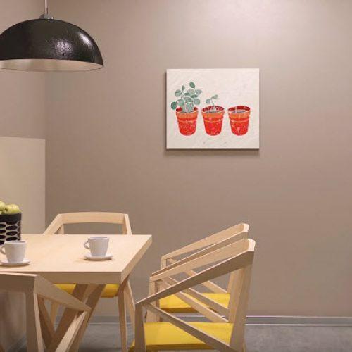 Кухонная зона в офисном помещении
