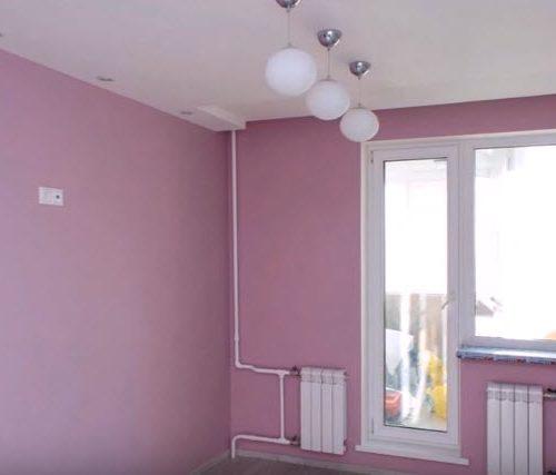 Штукатурка и окраска стен в квартире