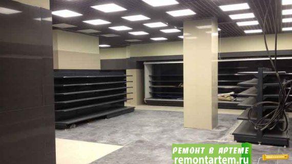 Строительство и ремонт магазинов в городе Артёме