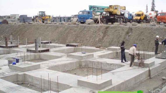 Строительство фундаментов из железобетона для загородных домов Артёма