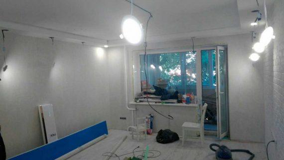 Частичная замена электрической проводки в квартире