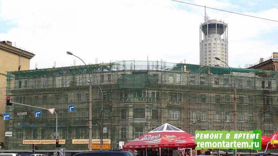 Реконструкция зданий от компании ООО.РЕМОНТ АРТЁМ