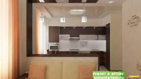 Ремонт двухкомнатной квартиры в Артёме недорого