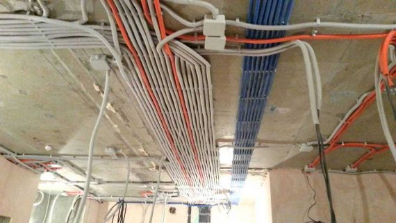 Полная замена и монтаж электропроводки в квартире