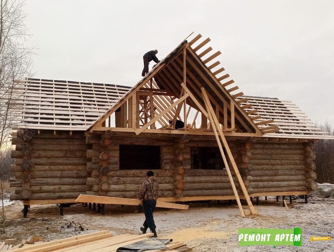 Строительство домов из дерева в Артёме