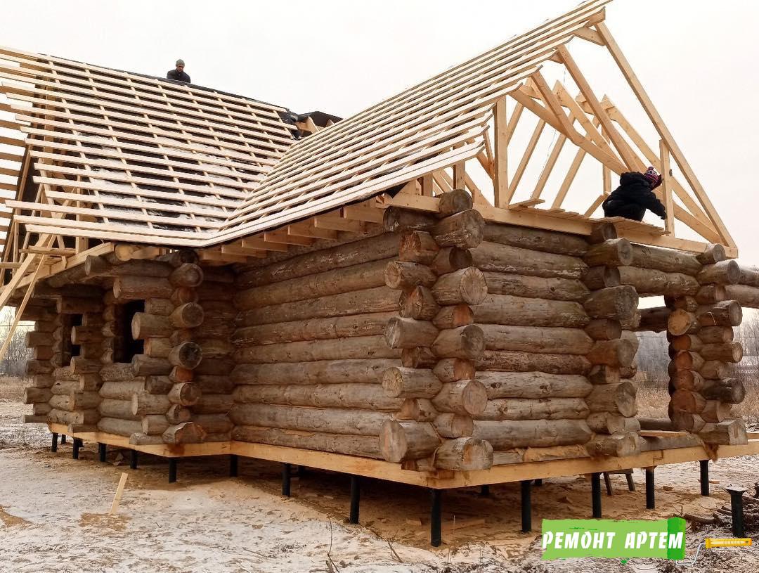 Строительство рубленых домов в Артёме