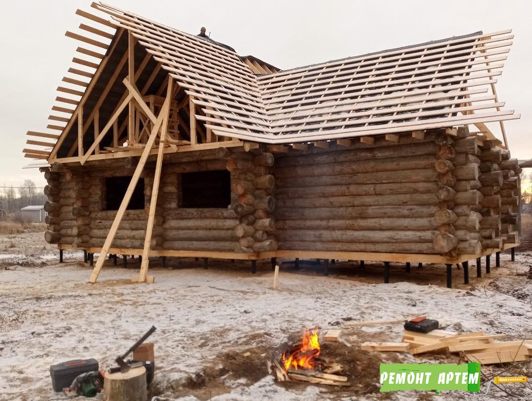 Строительство деревянных домов из сруба