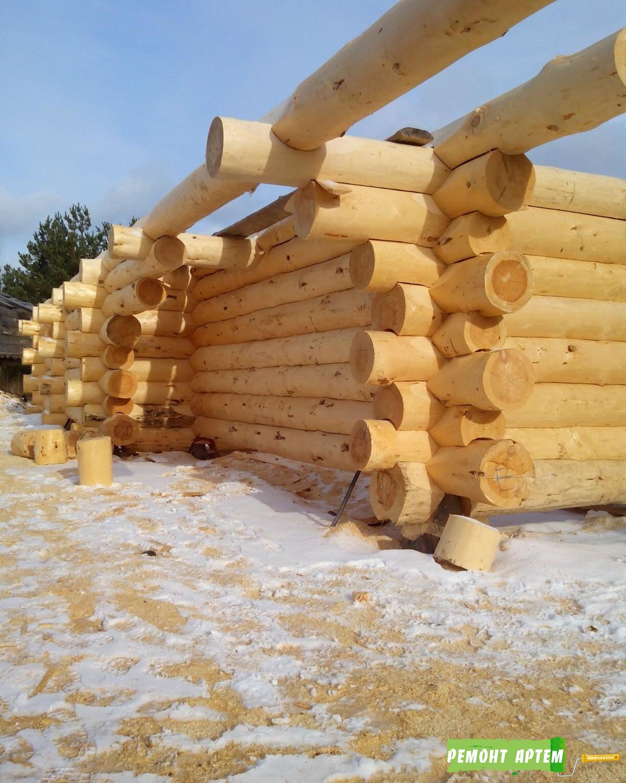 Строительство деревянных домов из сруба в Артёме