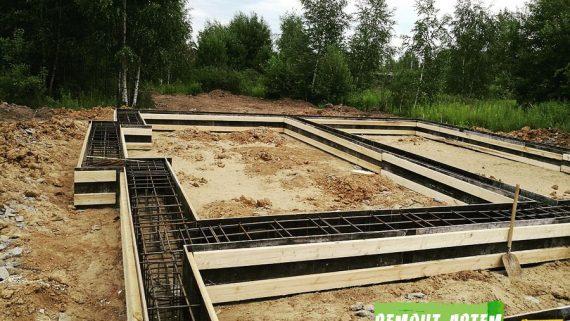 Строительство фундамента под ключ в Артёме недорого!