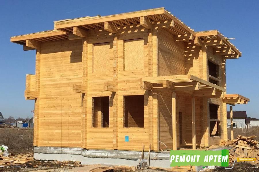 Строительство домов из бруса в Артёме