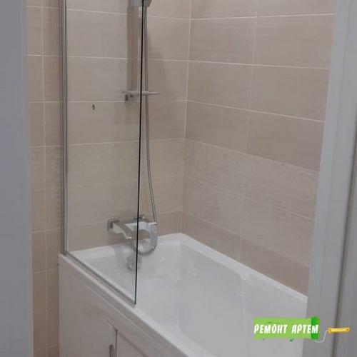 Монтаж ванны и подключение к канализации