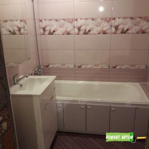 Установка ванны в санузле