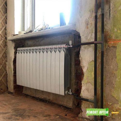 Замена стояков в квартире город Артём