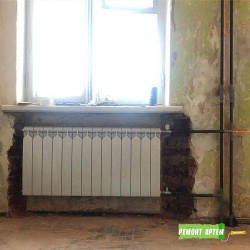 Быстрая замена радиаторов в квартире