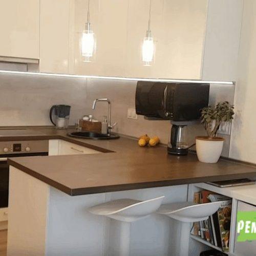 Ремонт кухни в маленькой квартире