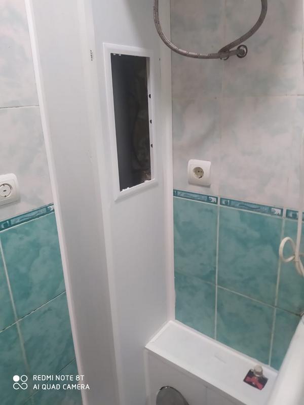 Как спрятать трубы в ванной комнате и санузле